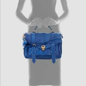 Proenza Schouler Blue Medium PS1 Messenger Bag